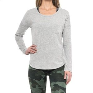 90 Degrees by Reflex Long Sleeve Grey Pullover